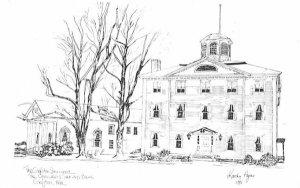 The Grafton Inn Massachusetts Postcard