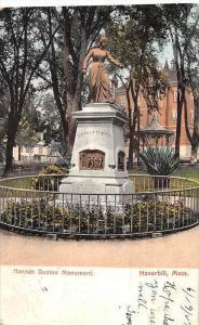 Massachusetts Haverhill,   Hannah Duston Monument, Gazebo in background
