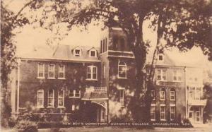 Arkansas Arkadelphia New Boy's Dormitory Ouachita College Artvue