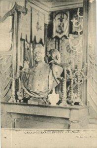 PC CPA FREEMASONRY, GRAND ORIENT DE FRANCE, Vintage Postcard (b14654)