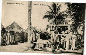 CPA AK Senegal-Tirailleurs Sénégalais-Service de Santé (235327)