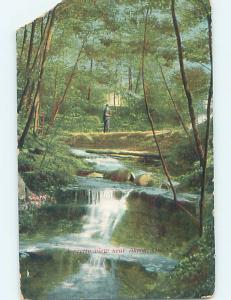 Divided-Back POSTCARD FROM Akron Ohio OH HM6433