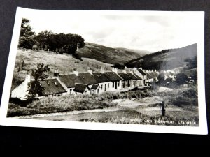 Vintage RPPC Symington's Monument, Leadhills, South Lanarkshire Real Photo P25