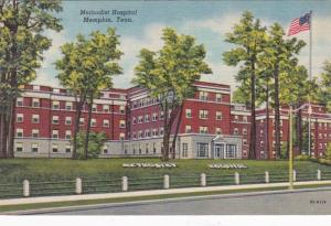 Tennessee Memphis Methodist Hospital Curteich