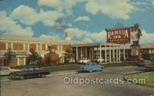 Ramada Inn, Dallas, Texas, USA Motel Hotel Postcard Postcards  Ramada Inn, Da...