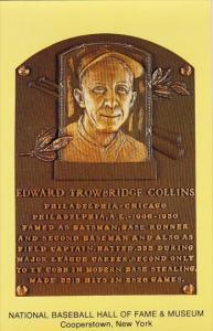 Edward Trowbridge Collins Baseball Hall Of Fame & Museum Cooperstown New York