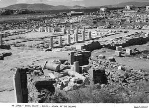 Greece Delos Agora of The Delians Ruins