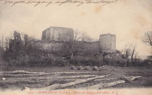Ruines Du Donjon (XII Siecle), Semblancay (Indre et Loire), France, 1900-1910s