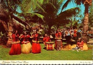 Hawaii Oahu Laie Polynesian Cultural Center Tahitian Costumes 1978