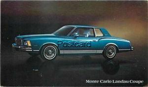 Advertising, 1978 Chevrolet Monte Carlo Landau Coupe