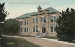 GUELPH , Ontario , Canada , 1911 ; Experimental Building , O.A.C.