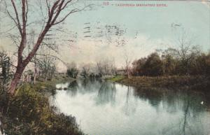 A California Irrigating Ditch 1907