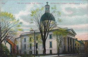 Rhode Island Providence The Old Round Top Church Weybosset Street