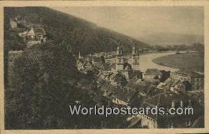 Miltenberg a M Germany, Deutschland Postcard Total vom Weibhauswald Miltenber...