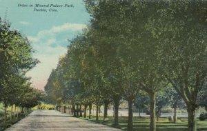 PUEBLO, Colorado;  1900-10s; Drive in Mineral Palace Park