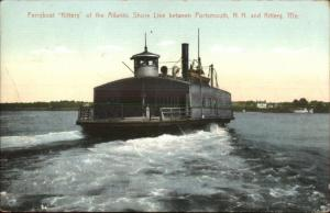 Ferry Boat KITTERY Kittery ME & Portsmouth NH c1910 Postcard