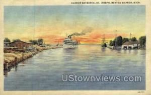Harbor Entrance Benton Harbor MI 1938