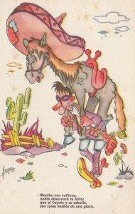 Man carries Donkey , Comic , 00-10s