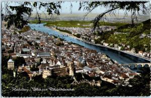 Heidelberg, Blick vom Rindenhauschen c11