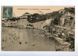 236372 FRANCE MARSEILLE Corniche Prophet Old RPPC to Ethiopia