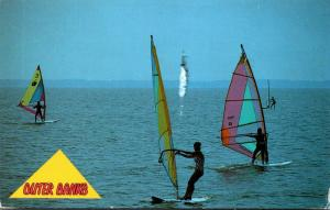 North Carolina Outer Banks Windsurfing 1993
