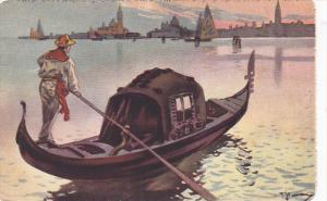 Italy Venezia La Gondola