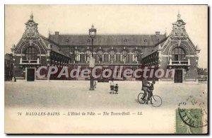 Old Postcard Malo Les Bains Hotel De Ville