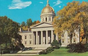The Beautiful Capitol Of Vermont Montpelier Vermont