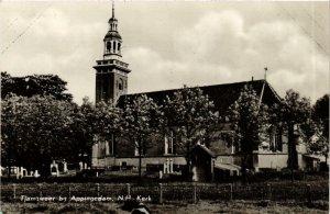 CPA TJAMSWEER bij APPINGEDAM N.H. Kerk NETHERLANDS (705993)
