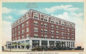 BARTLESVILLE , Oklahoma, 1900-10s ; New Hotel Maire