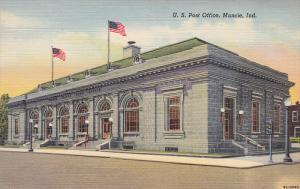 Exterior,  U.S. Post Office,  Muncie,  Indiana,  30-40s