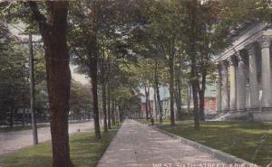 West Sixth Street, ERIE, Pennsylvania, PU-1915