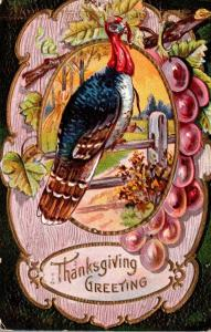 Thanksgiving With Turkey 1910