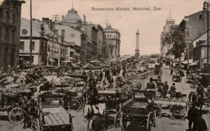 MONTREAL, Quebec, Canada, PU-1914 ; Bonsecours Market