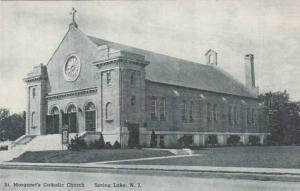 New Jersey Spring Lake Saint Margarets Catholic Church Albertype