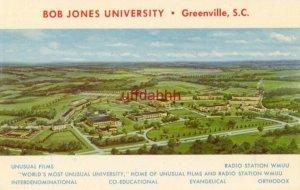 BOB JONES UNIVERSITY, GREENVILLE, SC Home of Unusual Films & Radio Station WMUU