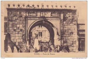 Tunis, Tunisie, Potre de France - PU-1938
