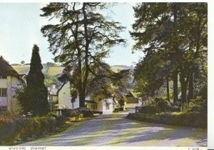 Somerset Postcard - Winsford - Ref 3563A