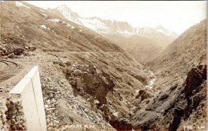 White Pass and Yukon Railway Yukon Canada Skagway Alaska RPPC Postcard NS