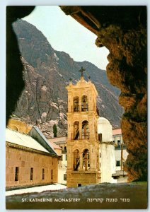 SOUTH SINAI, Egypt ~ ST CATHERINE MONASTERY  c1950s  Postcard