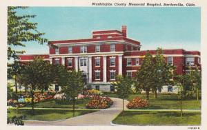 Oklahoma Bartlesville Washington County Memorial Hospital Curteich
