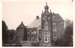 Vaassen Kasteel De Gannenburgh Holland 1950
