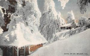 8326 CA San Gabriel Mtns  Hotel On Mt. Wilson Winter