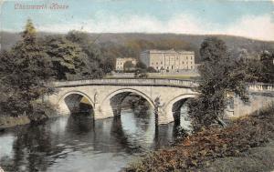 Chatsworth House River Bridge Pont 1904
