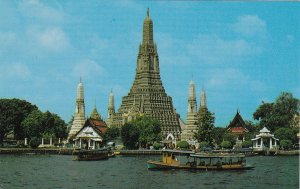 Thailand Bangkok Wat Arun Temple Of Dawn sk7378