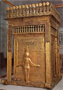 BF39120 the great glden canopic schrine of tut ank amoun  sculpture art postcard