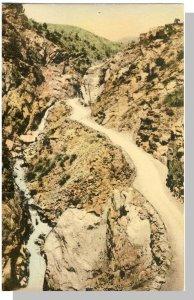 Vintage Colorado Springs, CO Postcard, Ute Pass