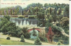 Peoria, Ill., View In Glen Oak Park
