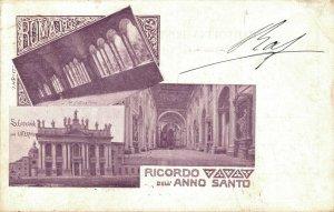 Italy - Ricordo Dell'anno Santo Roma 1900 04.38