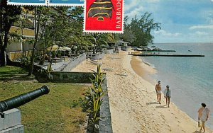 Barbados West Indies Post card Old Vintage Antique Postcard Miramar Beach Hot...